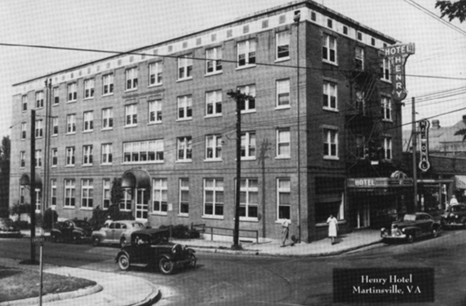 The Henry Hotel C 1919